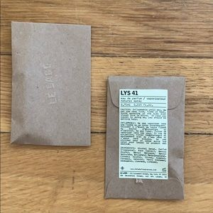 NWT Le Labo Bundle of Two Lys 41 Minis